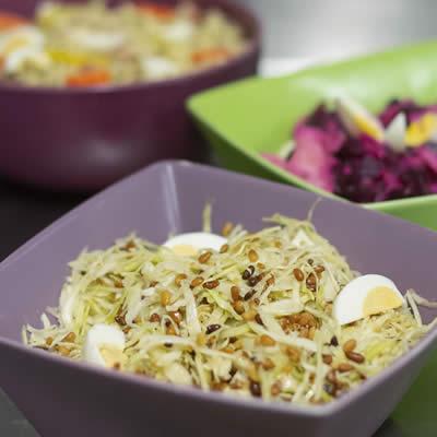 Les fins gourmets_salade de saison-entrée_banquet